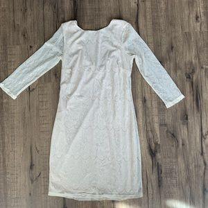 Pins and Needles | White/Cream dress